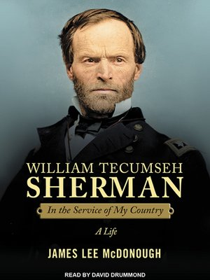 cover image of William Tecumseh Sherman