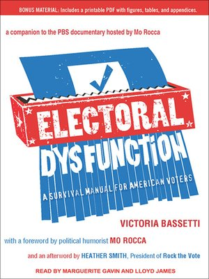 cover image of Electoral Dysfunction