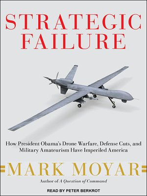 cover image of Strategic Failure