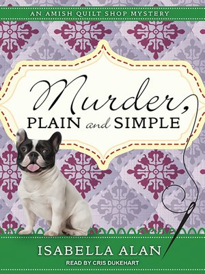 cover image of Murder, Plain and Simple