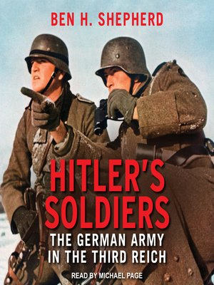 cover image of Hitler's Soldiers