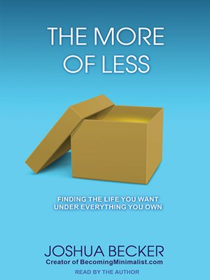 cover image of The More of Less