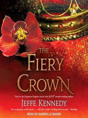 cover image of The Fiery Crown