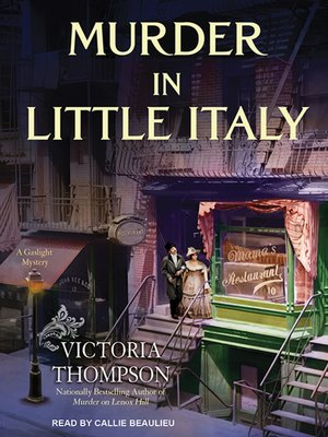 cover image of Murder in Little Italy