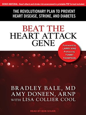 cover image of Beat the Heart Attack Gene