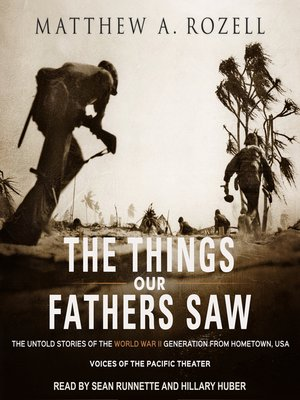 cover image of The Things Our Fathers Saw