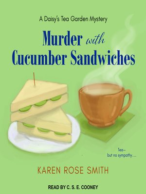 cover image of Murder with Cucumber Sandwiches
