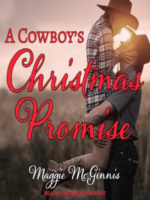 cover image of A Cowboy's Christmas Promise