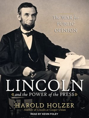 cover image of Lincoln and the Power of the Press