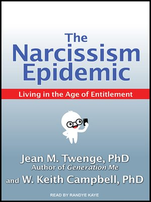 cover image of The Narcissism Epidemic