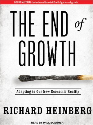 cover image of The End of Growth