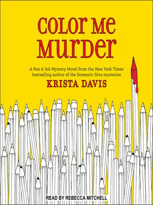 cover image of Color Me Murder