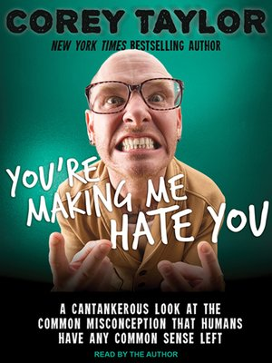 cover image of You're Making Me Hate You