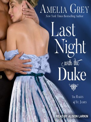 cover image of Last Night with the Duke