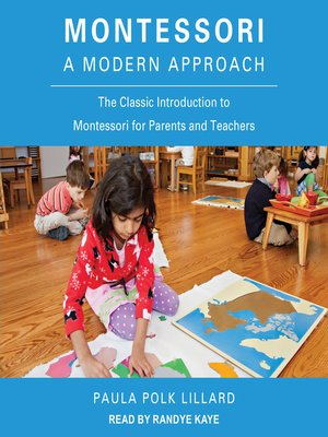 cover image of Montessori--A Modern Approach