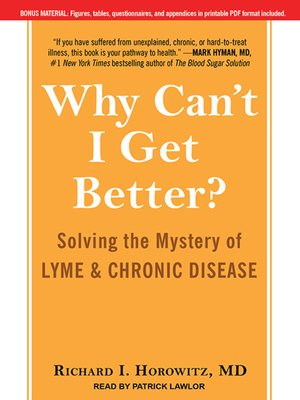 cover image of Why Can't I Get Better?