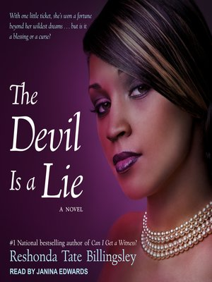 cover image of The Devil Is a Lie