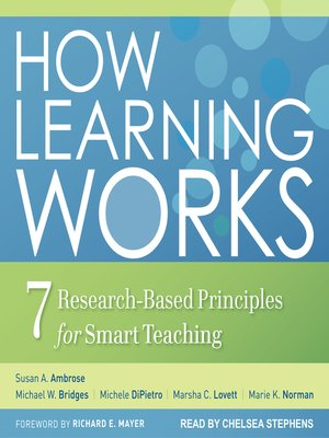cover image of How Learning Works