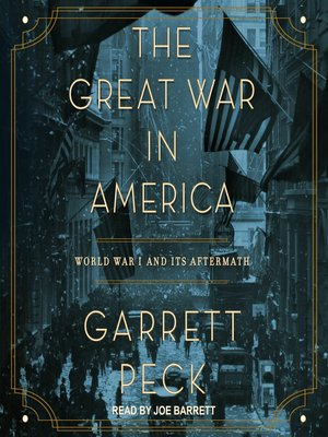 cover image of The Great War in America