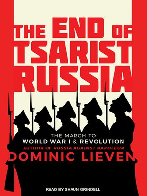 cover image of The End of Tsarist Russia