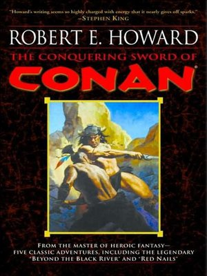 cover image of The Conquering Sword of Conan