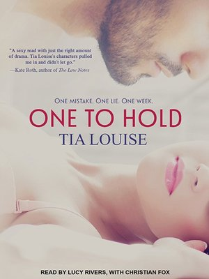 cover image of One to Hold Series, Book 1