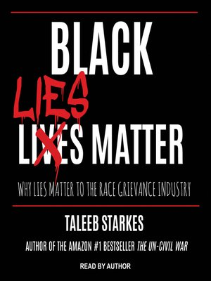 cover image of Black Lies Matter