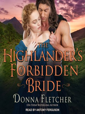 cover image of The Highlander's Forbidden Bride