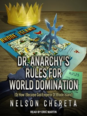 cover image of Dr. Anarchy's Rules For World Domination