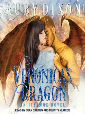 cover image of Veronica's Dragon--A SciFi Alien Romance