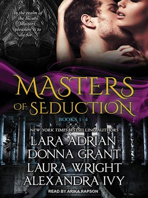 cover image of Masters of Seduction--Books 1-4 (Volume 1)