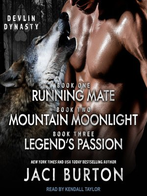 cover image of Running Mate, Mountain Moonlight, & Legend's Passion