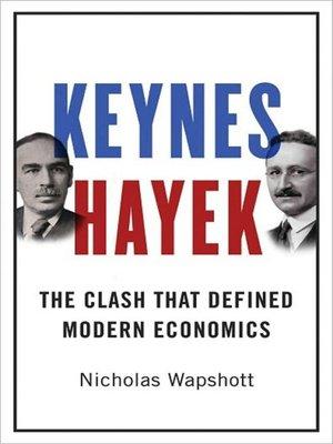 cover image of Keynes Hayek