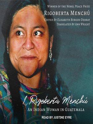 cover image of I, Rigoberta Menchú