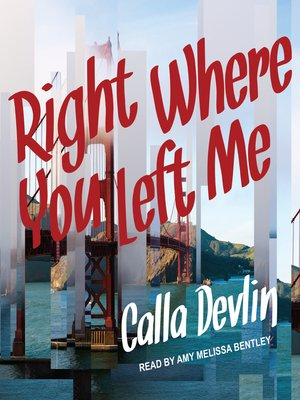 cover image of Right Where You Left Me