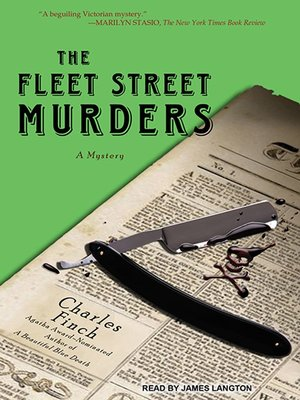 cover image of The Fleet Street Murders