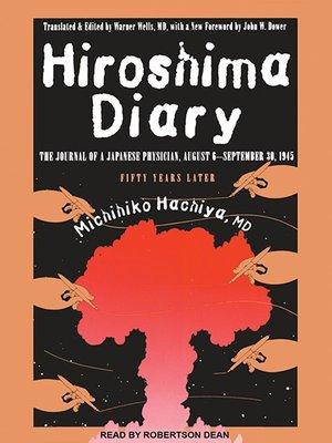 cover image of Hiroshima Diary