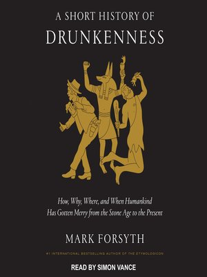 cover image of A Short History of Drunkenness