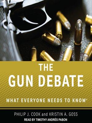 cover image of The Gun Debate