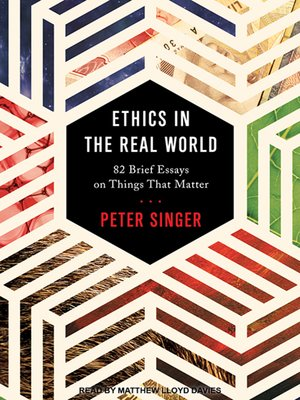 cover image of Ethics in the Real World