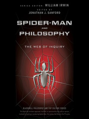 cover image of Spider-Man and Philosophy--The Web of Inquiry