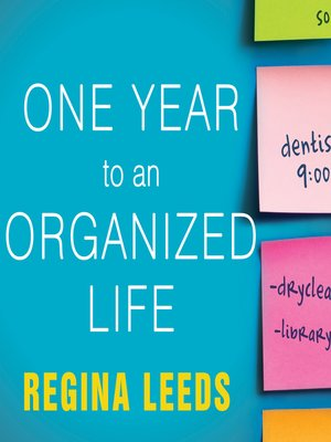 cover image of One Year to an Organized Life