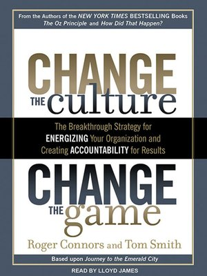 cover image of Change the Culture, Change the Game