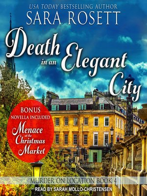 cover image of Death in an Elegant City