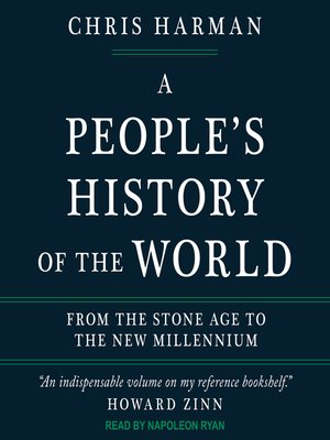 cover image of A People's History of the World