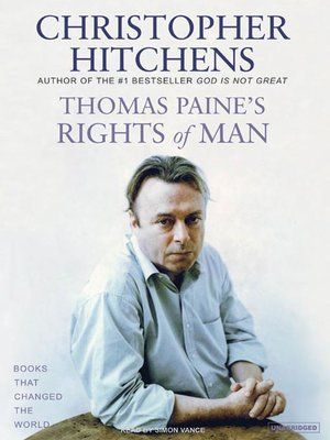 cover image of Thomas Paine's Rights of Man