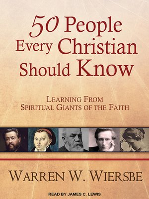 cover image of 50 People Every Christian Should Know