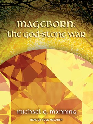 cover image of The God-Stone War