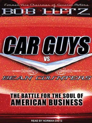 cover image of Car Guys vs. Bean Counters