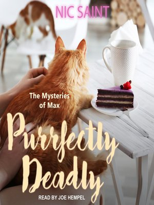 cover image of Purrfectly Deadly